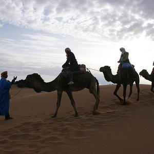 les dune du sable merzouga