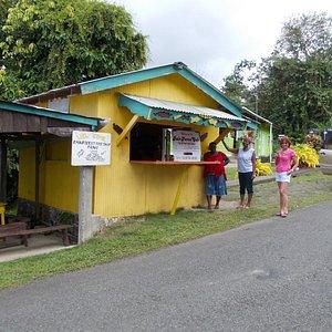 Rain Forest Cafe, Bloody Bay, Tobago