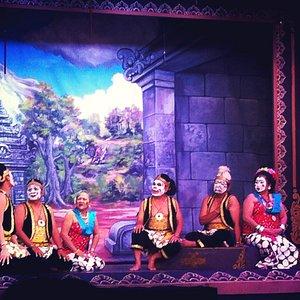 The Punakawan (jokers)