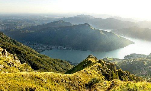 Vista sul Monte San Giorgio
