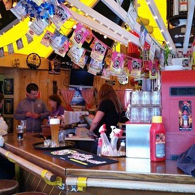 Great apresski bar!