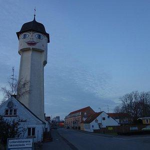 Saxine, Vandtårnet i Sakskøbing