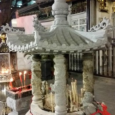 Yueh Hai Ching Temple.