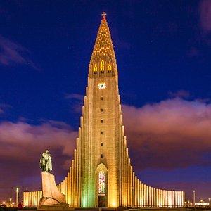 Hallgims church Reykjavik