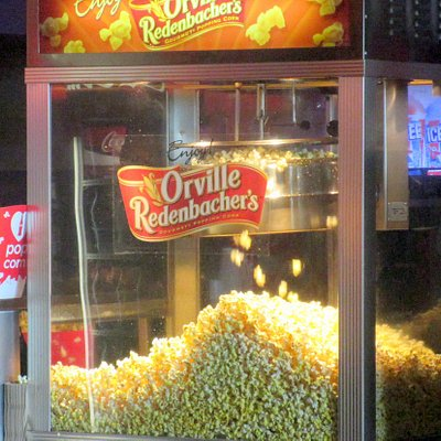Movie Popcorn - Century 20 Oakridge and XD, San Jose, Ca