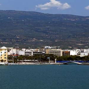 Volos. View from the sea.