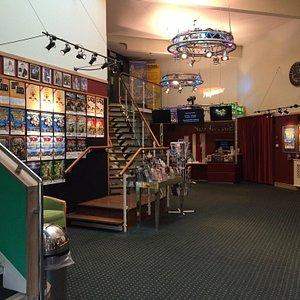 Interior - boletería