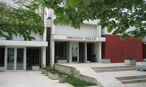 Çanakkale Arkeoloji Müze Giriş Kısmı