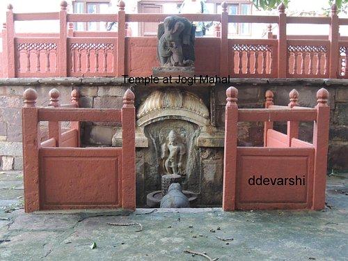 A temple at Entrance of Jogi Mahal