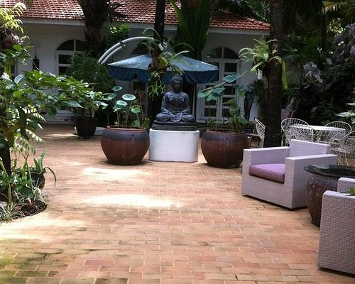 Peaceful environment for all my trainings