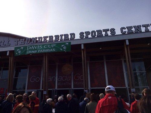 スポーツセンター入口
