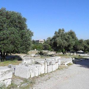 Heroon / Iroon, Agora of Athens, Greece