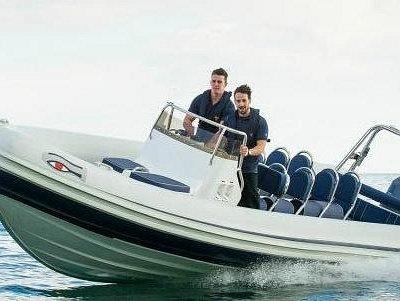 C2 RIBS charter boats