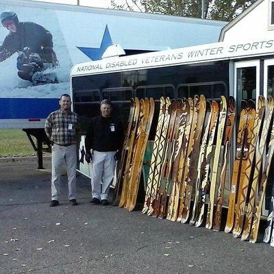 Donation of SkiLogik skis from www.aspenskiandsnowreport.com