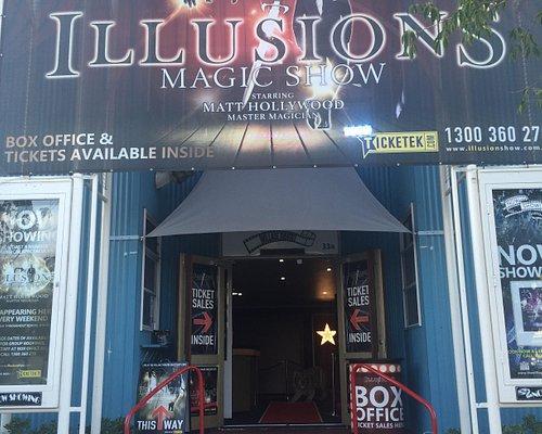 Illusions magic show sanctuary cove