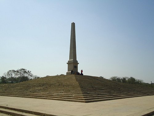 The Obelisk is the memorial for the three Durbars held here.