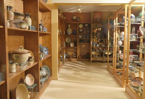 Pottery Gallery Art at Mud Puddle Pottery Studio