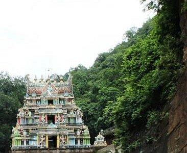 Upper Ahobilam temple main entrance
