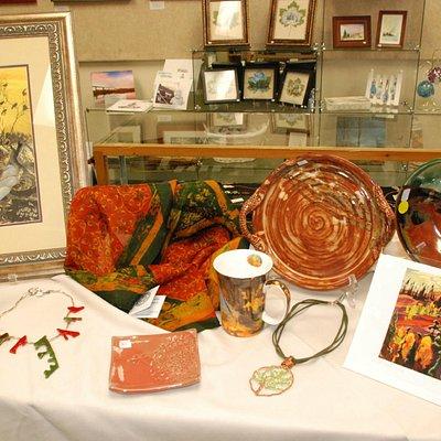 Gallery Shop unique locally made items