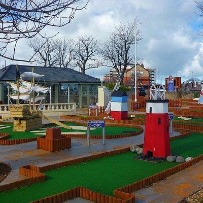 Rhos Fynach Mini Golf, Rhos-on-Sea