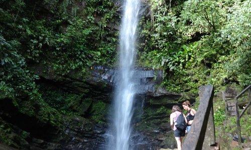 Les chutes d'Ahuashiyacu.