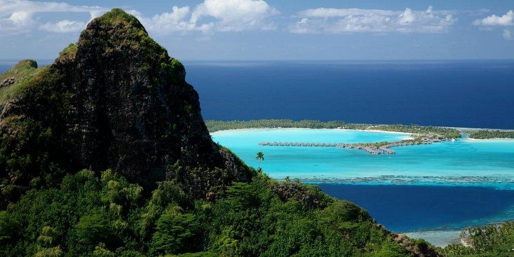 Mountain of Bora Bora
