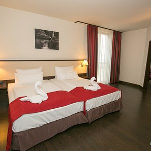 The One Bedroom Suite at the NH Wien Hotel