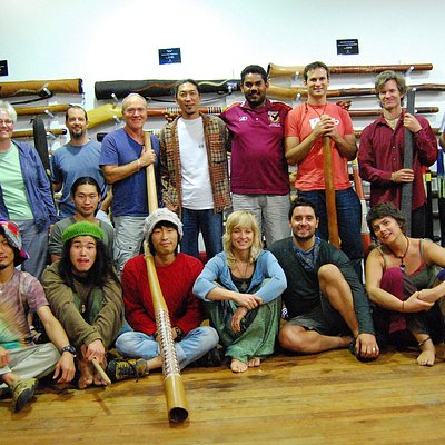 We run regular didgeridoo group workshops & classes. Visit our website or call us to learn more
