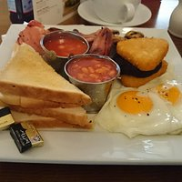 unbeatable breakfast and a great price