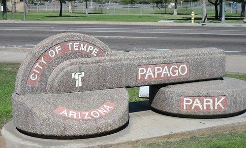 Entrance of Papago Park, Tempe, AZ