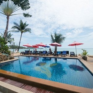 The Adult Pool at the Papillon Resort