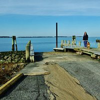 Boat ramp offers bay access