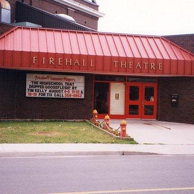Firehall Theatre on Walnut St in Niagara Falls, ON www.firehalltheatre.com