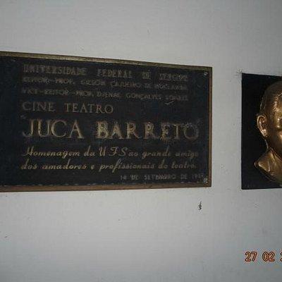 Entrada do Cine Teatro Juca Barreto da UFS.