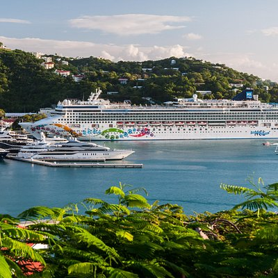 Cruise Ship at West Indian Dock