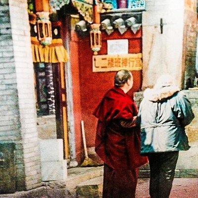 Tibetan Monks at Gompa