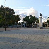 Vista desde calle Yrigoyen y Santa Fe