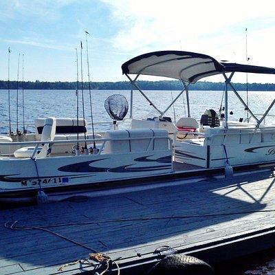 Eagle Mtn's fishing boat