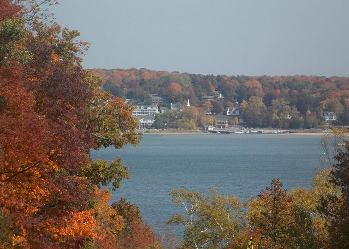 View of Ephraim from Peninsula State Golf Course