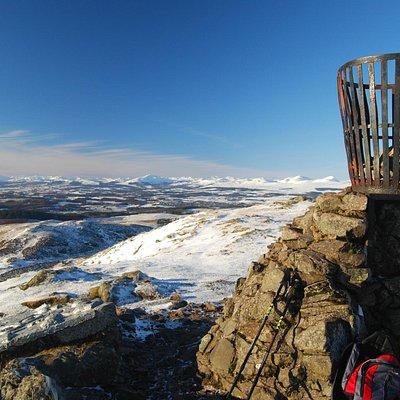 View from Dumyat summit