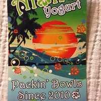 Aloha Yogurt was awesome! Definitely a go to froyo!