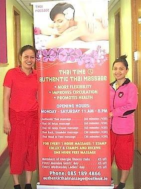 Susie and Nonnie at Thai Time Authentic Thai Massage