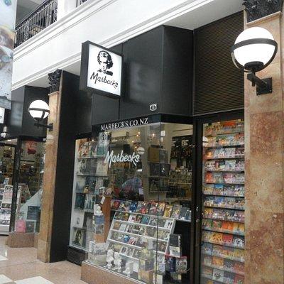 Marbecks shop.