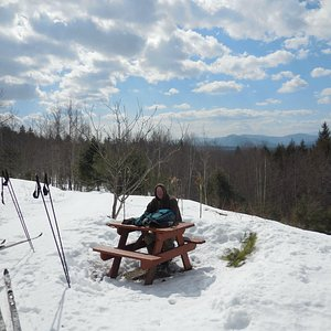 Picnic at the scenic overlook