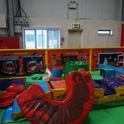 Baby-area, Soft play area. Run Amuck