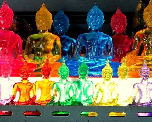 Colorful Buddha's