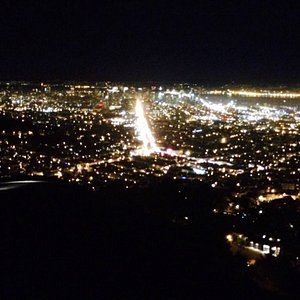 Twin peaks at night just can not be beat!