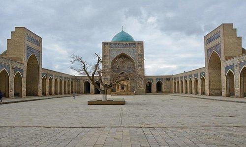Uzbekistan Bukhara Moschea Kalyan 05