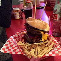 Heart Attack Grill Burger