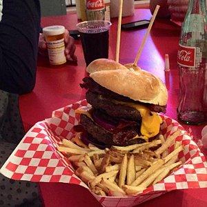 Heart Attack Grill Burger